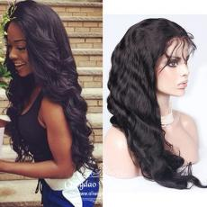 Beautiful Trends Le Fashion Waist Length wavy full lace wig human hair 24inches