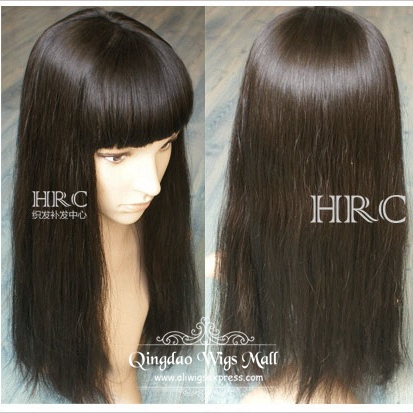 Soft Straight Natural Silk Base Human Hair Toppers UK   hair2design.com 515d2fe828