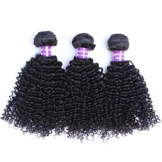 Indian Remy Remi Human Hair Weaves Extensions 3pcs/Lot Kinky Curly Wholesale