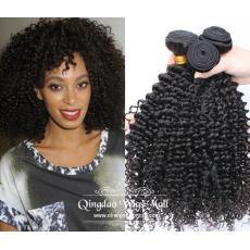 Fashion Afro Kinky Curly Brazilian Human Hair Extensions For Black Women 3pcs/Lot