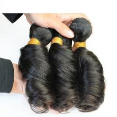 Beautiful Big Spiral Curls Peruvian Virgin Human Hair Extensions For Sale  3pcs/Lot