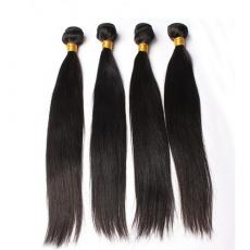 Beauty AA Women Black Silky Soft Straight Indian Remy Human Hair Wefts Weaves 4pcs/Lot