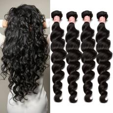 6A Peruvian Virgin Hair Great Lengths Hair Extensions With Low Price Cost 4pcs/Lot