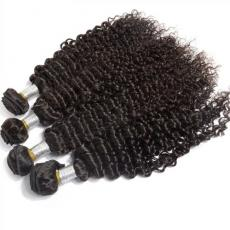 Fabulous Black Women Deep Curly Hair Dos Remy 6A Indian Human Hair Extensions 4pcs/Lot