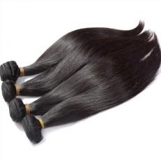 Super Natural Soft Straight Remy 6A Indian Human Hair Wefts For African Amerian Women 4pcs/Lot