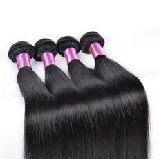 Brunettes Black Virgin 7A Malaysian Human Hair Double Wefts Full Soft Straight 4pcs/Lot