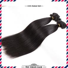 Top Quality Natural Smooth Straight Clip In Human Hair Extensions 6A Indian Remy Hair Wefts For Blac...