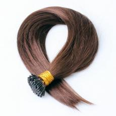 Jessica Simpson Chocolate Brown Soft Straight Keratin Pre Bonded I Tip Human Hair Extensions