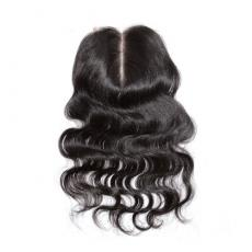 Best Black Women Hairstyle Loose Wavy 6A Virgin Peruvian Human Hair Lace Base Closure Middle Part