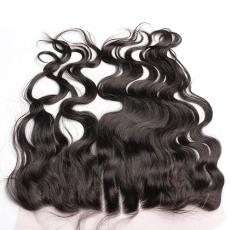 3 Part Loose Wave Brazilian Virgin Hair Lace Frontal Closure With Baby Hair