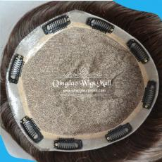 Cheap Discounted Natural Silk Top Hair Loss Replacement System In Sydney