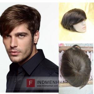 Coolest Medium Brown Mens Wigs And Hairpieces For Work Houston TX