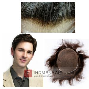 Good Quality Dark Brown Hair Replacement Toupees For Alopecia Auckland
