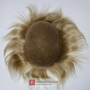 Next Day Delivery Light Blonde European Human Hair Wigs For Men Online UK
