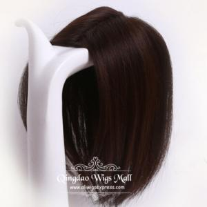 Undetectable Indian Remy Human Hairpieces For Women Thinning Crown