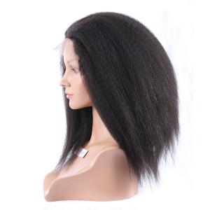 Deluxe Beautiful AA Hairstyle Long Coarse Italian Yaki 150 Heavy Density U Part Human Hair Wigs