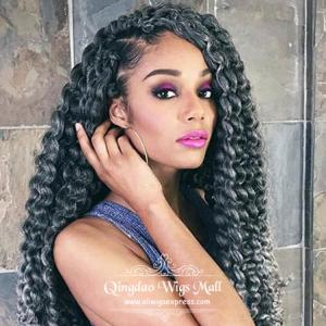 Incredibly Pretty Rihanna Thick Waterfall Loose Curly Human Hair Celebrity Lace Front Wigs 24inch