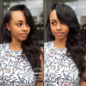 Natural Black Long Celebrity Lace Front Wigs In UK And Sydney 22inch
