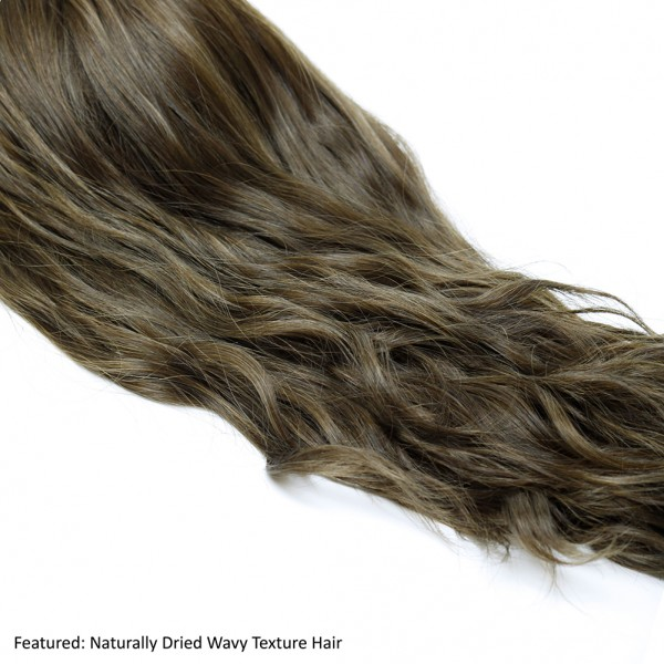 Dark Brown Wavy Remy Hair Wiglets Hair Pieces For Thinning Crown