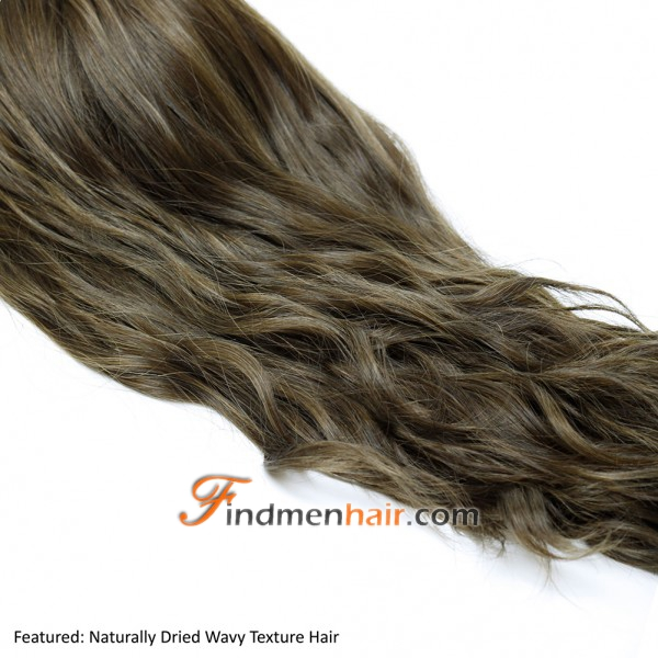 Natural Parting Human Hair Wiglets And Toppers For Thinning Crown