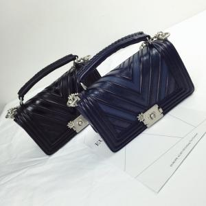women crossbody bag with Silver Chain