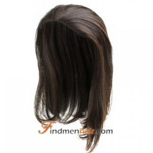 Monofilament Band-Fall Women's Frontal Human Hair Toppers