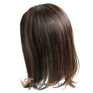 Band-Fall Clip In Human Hair Half Wigs For Natural Hair