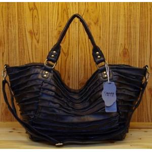 L handbag genuine leather 40cm
