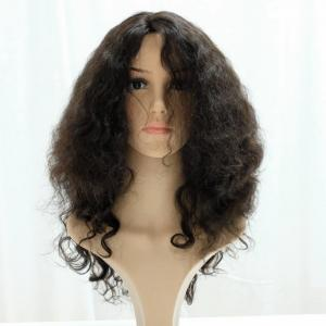 Charming Medium Length Bouncy Curls Bob Style Remi Lace Front Wigs For Sale Online