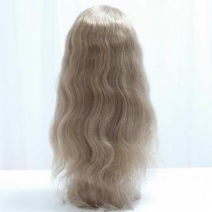 Lightest 613 Blonde Human Hair Lace Front Wigs For Caucasion White Women