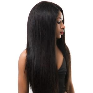 Super Smooth 7A Grade 250 High Density Soft Silky Straight Lace Front Wigs 26 inch