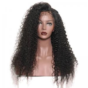 100 Percent Brazilian Virgin Nikii Kinky Curly Lace Front Human Hair Wigs