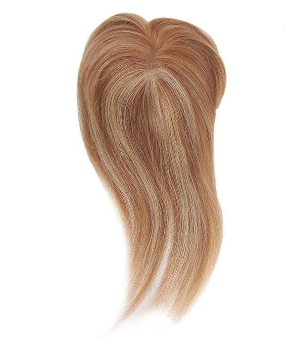 e49cec28f0 Mixed Blonde Mono Thin Skin Realistic Human Hair Toppers Wigs For ...