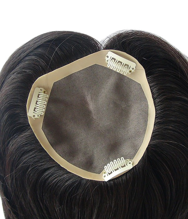 Newest Natural Hair Topper Halo Hair Extensions For Thinning Hair