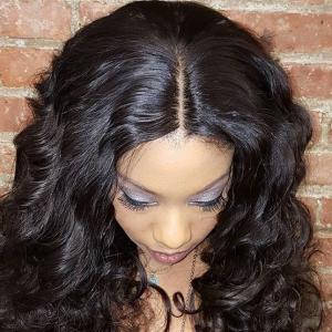 Luxury African American Deep Wave Hairstyles Indian Remy Hair Weaves Extensions 3pcs/Lot
