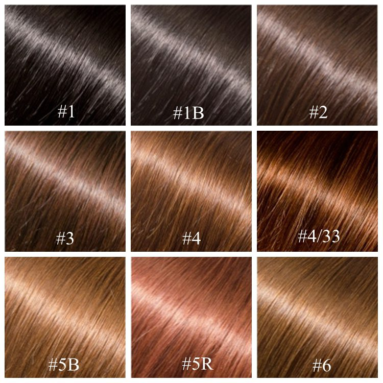 Hair Color Chart On HairDesignCom Online Store