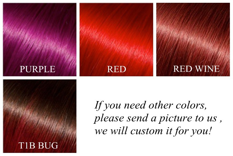 Purple Red Hair Color Chart - Best Hair Color 2017