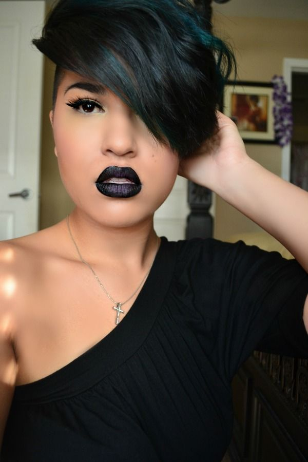 12 Pretty Black Women Hairstyles With Bangs On Hair2design