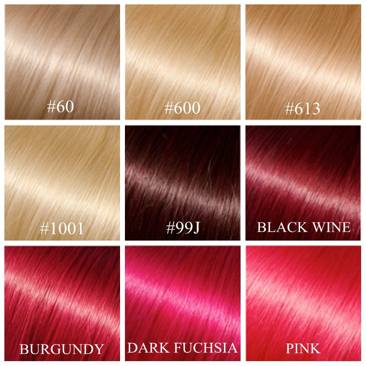 Hair Color Chart On Hair2design Com Online Store